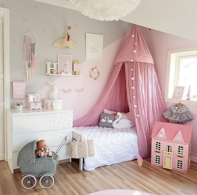Nếu có con gái, nhất định ba mẹ nên trang trí phòng cho bé đẹp như thế này - Ảnh 6.
