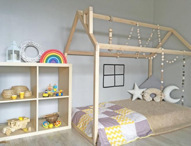 Giường gác mái - món nội thất dành riêng cho bé xinh đến ngẩn ngơ - Ảnh 5.