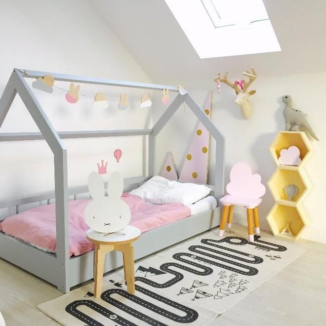Giường gác mái - món nội thất dành riêng cho bé xinh đến ngẩn ngơ - Ảnh 13.