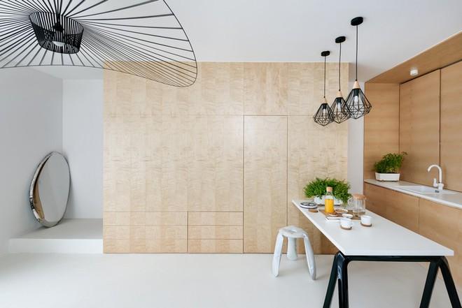 Thuốc bổ cho ngôi nhà nhỏ chính là nội thất gỗ đa chức năng - Ảnh 4.