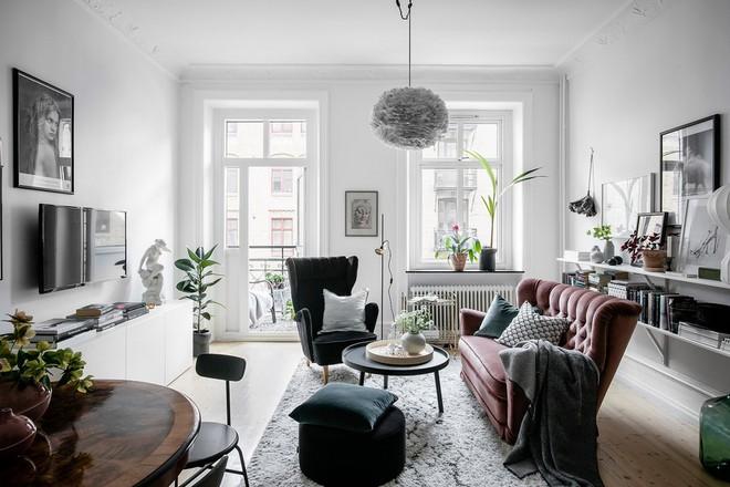 Lại thêm 1 căn hộ thành công xuất sắc khi áp dụng phong cách Scandinavian vào trang trí nhà - Ảnh 2.