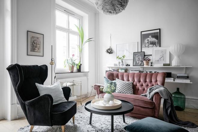 Lại thêm 1 căn hộ thành công xuất sắc khi áp dụng phong cách Scandinavian vào trang trí nhà - Ảnh 3.