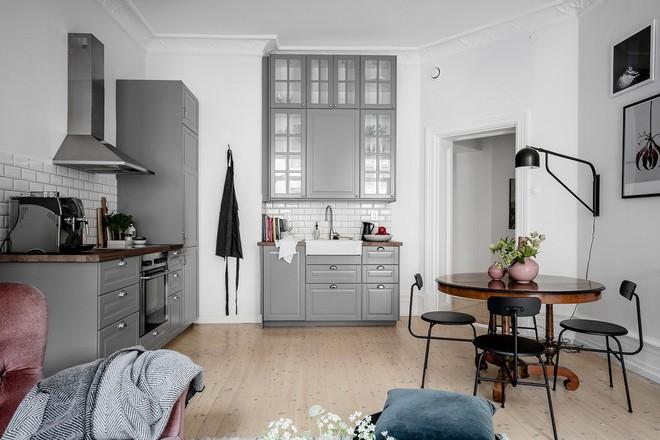 Lại thêm 1 căn hộ thành công xuất sắc khi áp dụng phong cách Scandinavian vào trang trí nhà - Ảnh 4.
