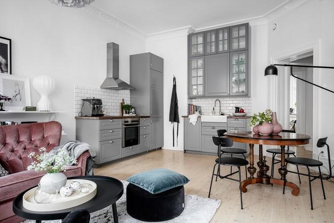 Lại thêm 1 căn hộ thành công xuất sắc khi áp dụng phong cách Scandinavian vào trang trí nhà - Ảnh 5.