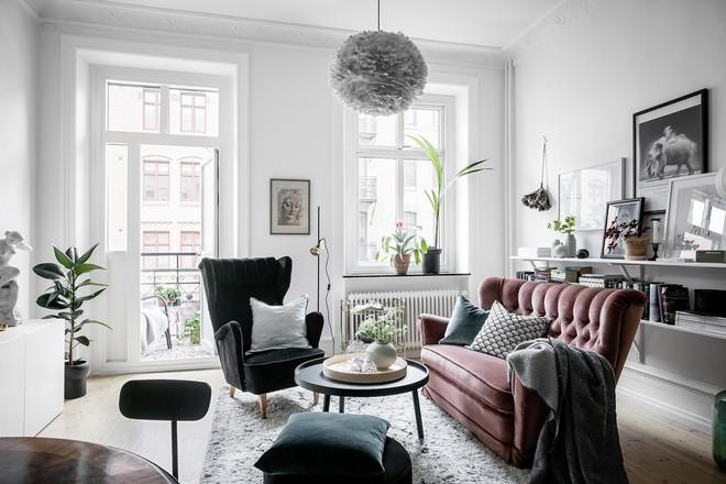 Lại thêm 1 căn hộ thành công xuất sắc khi áp dụng phong cách Scandinavian vào trang trí nhà - Ảnh 6.