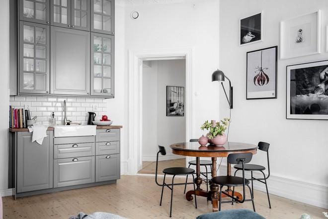 Lại thêm 1 căn hộ thành công xuất sắc khi áp dụng phong cách Scandinavian vào trang trí nhà - Ảnh 7.