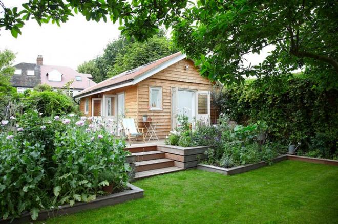 Chìm đắm trong ngôi nhà vườn đẹp lãng mạn như một bức tranh đồng quê - Ảnh 2.