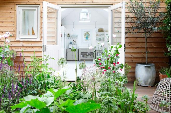 Chìm đắm trong ngôi nhà vườn đẹp lãng mạn như một bức tranh đồng quê - Ảnh 3.