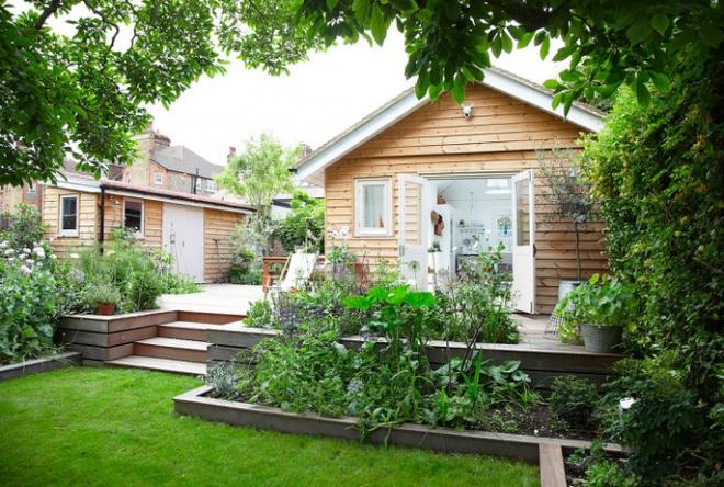 Chìm đắm trong ngôi nhà vườn đẹp lãng mạn như một bức tranh đồng quê - Ảnh 8.
