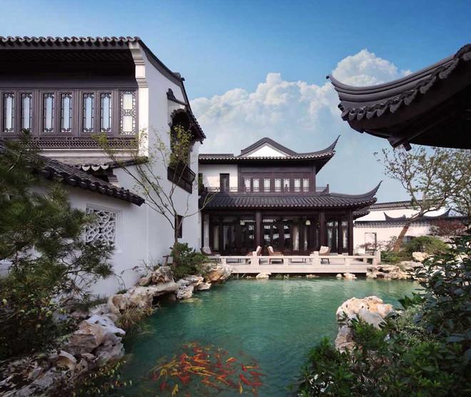 Mê mẩn trước căn biệt thự đẹp như chốn bồng lai tiên cảnh của tỷ phú Jack Ma - Ảnh 4.