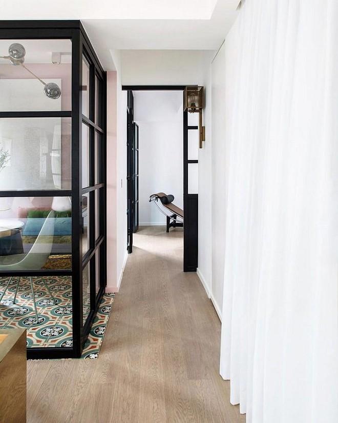 Lâu lắm rồi mới lại thấy một căn hộ sử dụng gam màu hồng pastel khéo léo và đẹp mắt đến thế - Ảnh 5.