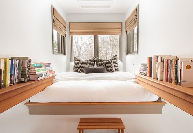 Ngôi nhà nhỏ nhưng vô cùng ấm cúng và không kém phần rộng rãi nhờ tận dụng trần cao để thiết kế gác xép - Ảnh 5.