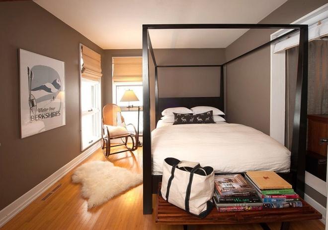 Ngôi nhà nhỏ nhưng vô cùng ấm cúng và không kém phần rộng rãi nhờ tận dụng trần cao để thiết kế gác xép - Ảnh 6.