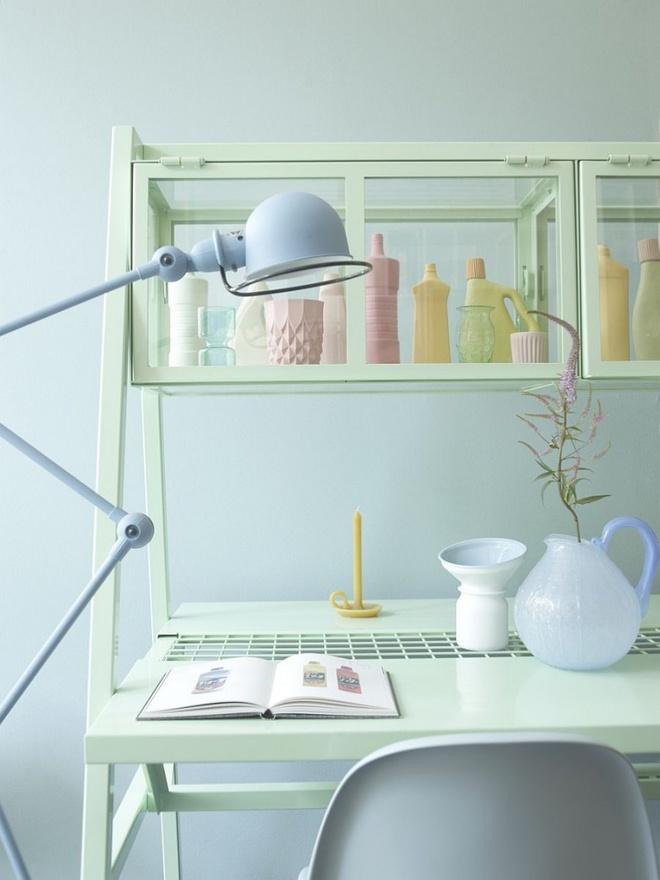Phòng làm việc đẹp dịu dàng và bình yên với gam màu pastel khiến ai nhìn cũng yêu - Ảnh 5.