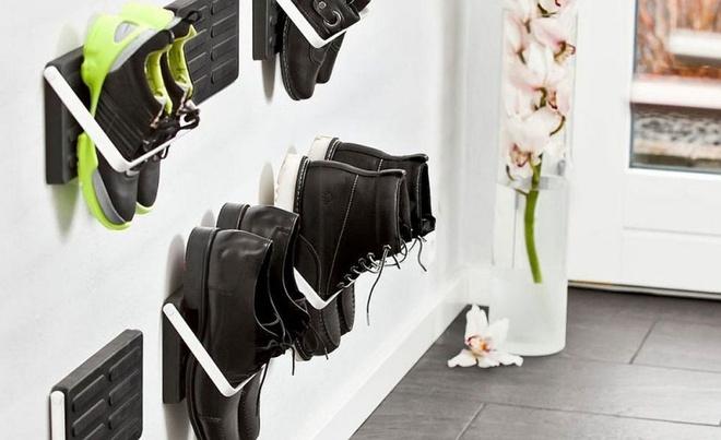 10 ý tưởng thông minh tạo kệ giày dép siêu tiết kiệm không gian - Ảnh 5.