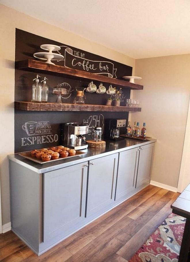 Những căn bếp đẹp hút hồn với kệ gỗ tự nhiên phong cách Rustic - Ảnh 12.