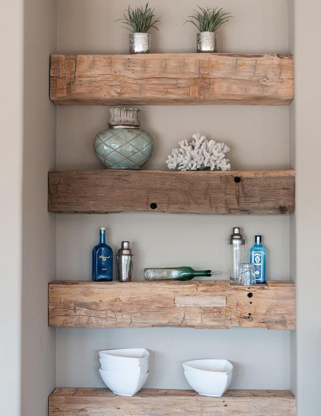Những căn bếp đẹp hút hồn với kệ gỗ tự nhiên phong cách Rustic - Ảnh 15.