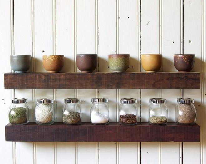 Những căn bếp đẹp hút hồn với kệ gỗ tự nhiên phong cách Rustic - Ảnh 16.