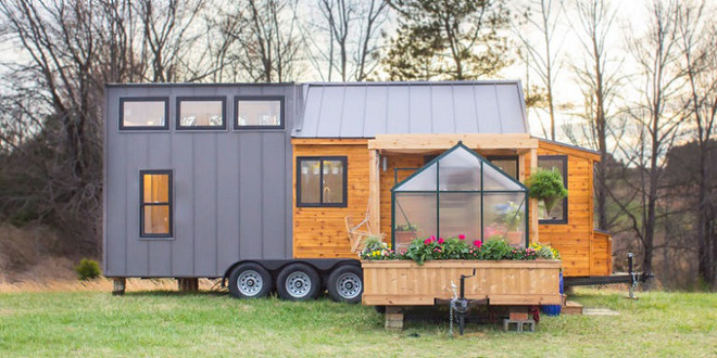 Bạn đã biết gì chưa: Giấc mơ về ngôi nhà nhỏ di động có nhà kính trồng hoa đã không còn khó thực hiện - Ảnh 2.