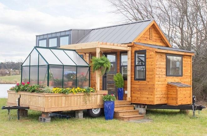 Bạn đã biết gì chưa: Giấc mơ về ngôi nhà nhỏ di động có nhà kính trồng hoa đã không còn khó thực hiện - Ảnh 14.