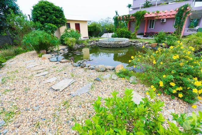 Ngôi nhà vườn xanh mát bóng cây của nữ giảng viên đại học chỉ cách Hà Nội 30 phút chạy xe - Ảnh 7.