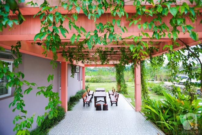 Ngôi nhà vườn xanh mát bóng cây của nữ giảng viên đại học chỉ cách Hà Nội 30 phút chạy xe - Ảnh 21.