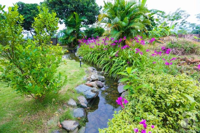 Ngôi nhà vườn xanh mát bóng cây của nữ giảng viên đại học chỉ cách Hà Nội 30 phút chạy xe - Ảnh 27.