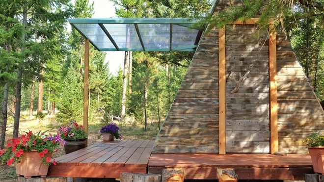 Đôi vợ chồng tự tay xây dựng một ngôi nhà nhỏ vô cùng xinh xắn với giá thành chưa tới 18 triệu đồng - Ảnh 3.