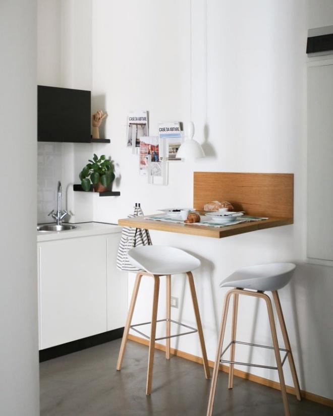 Ngắm những căn bếp rộng chưa đến 3m² nhưng được thiết kế không thể hợp lý hơn - Ảnh 2.