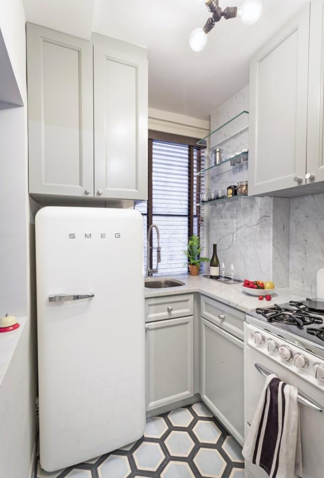 Ngắm những căn bếp rộng chưa đến 3m² nhưng được thiết kế không thể hợp lý hơn - Ảnh 4.