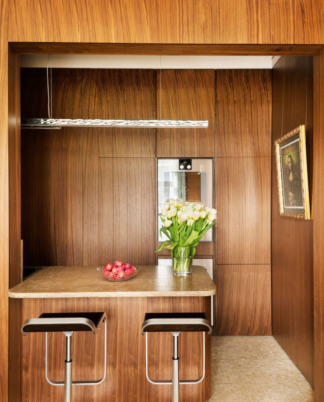 Ngắm những căn bếp rộng chưa đến 3m² nhưng được thiết kế không thể hợp lý hơn - Ảnh 7.
