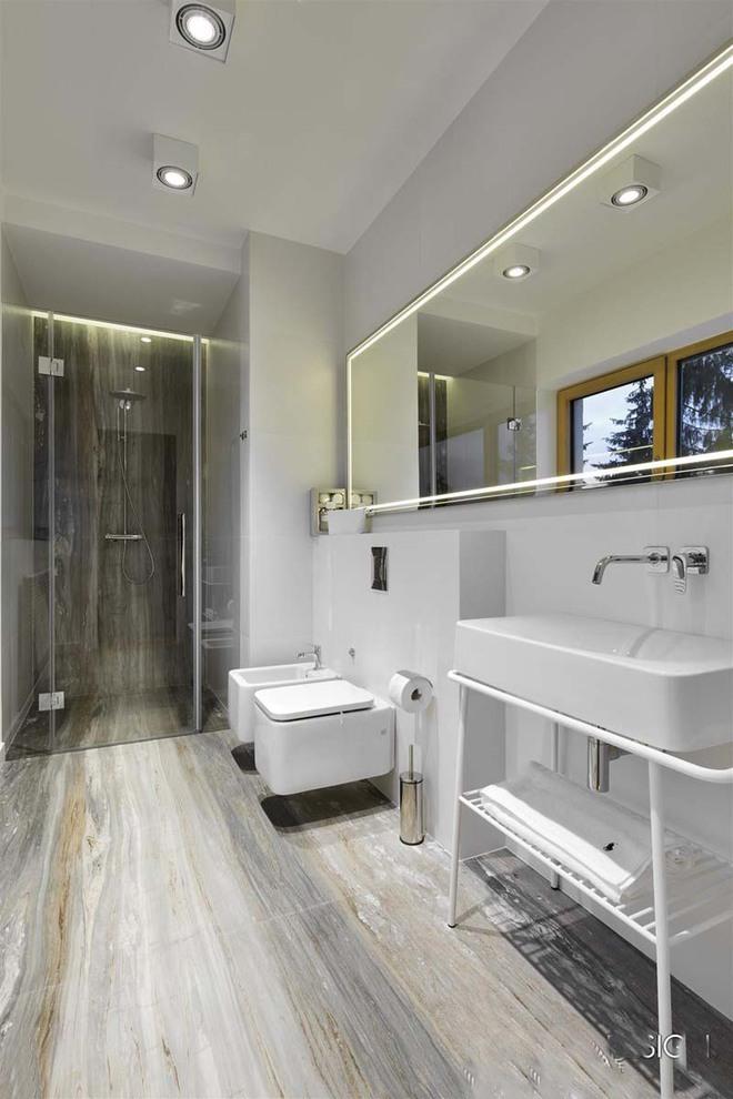 Đèn led – Mẫu đèn lý tưởng để làm bừng sáng phòng tắm gia đình - Ảnh 3.