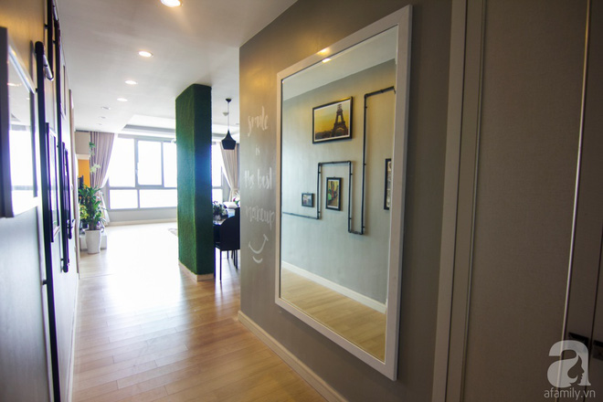 Căn hộ 83m² thoáng mát và ấn tượng với chi phí thi công 100 triệu đồng ở Hà Nội - Ảnh 3.