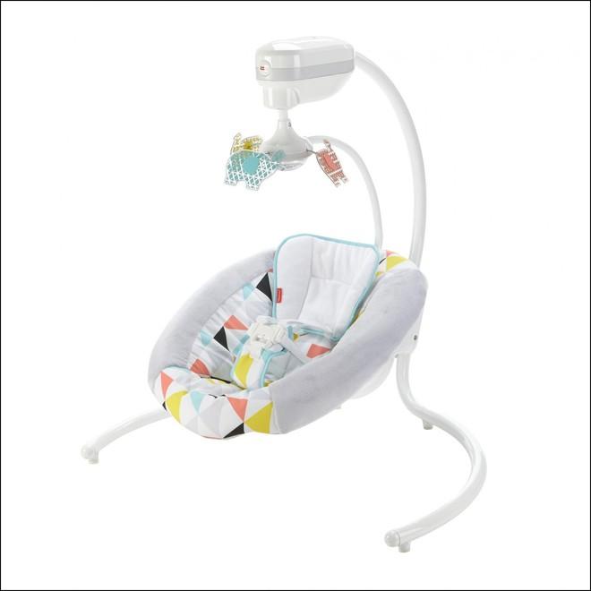 Có chiếc ghế rung thông minh này, bố mẹ sẽ chẳng bao giờ phải lo ru con ngủ nữa - Ảnh 3.