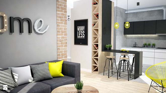 Tranh chữ slogan – xu hướng trang trí nội thất đỉnh cao bắt nguồn từ sự tối giản - Ảnh 3.