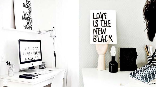 Tranh chữ slogan – xu hướng trang trí nội thất đỉnh cao bắt nguồn từ sự tối giản - Ảnh 9.