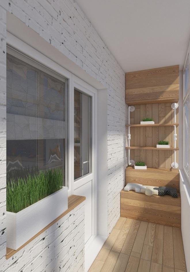 Thiết kế tủ lưu trữ ở ban công chỉ với 2m² là có thể thực hiện được, bạn đã biết chưa? - Ảnh 5.
