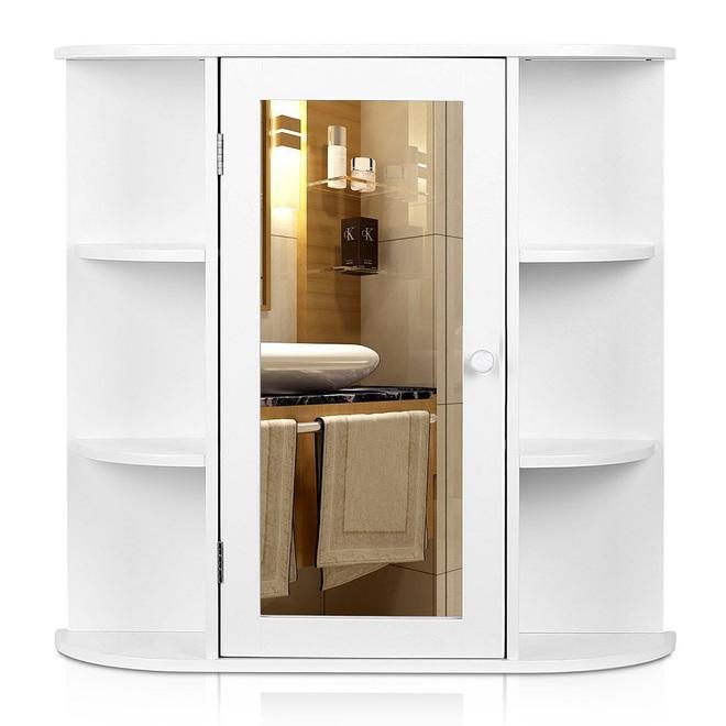 8 mẫu tủ lưu trữ cực xinh xắn dành cho phòng tắm nhà bạn - Ảnh 2.