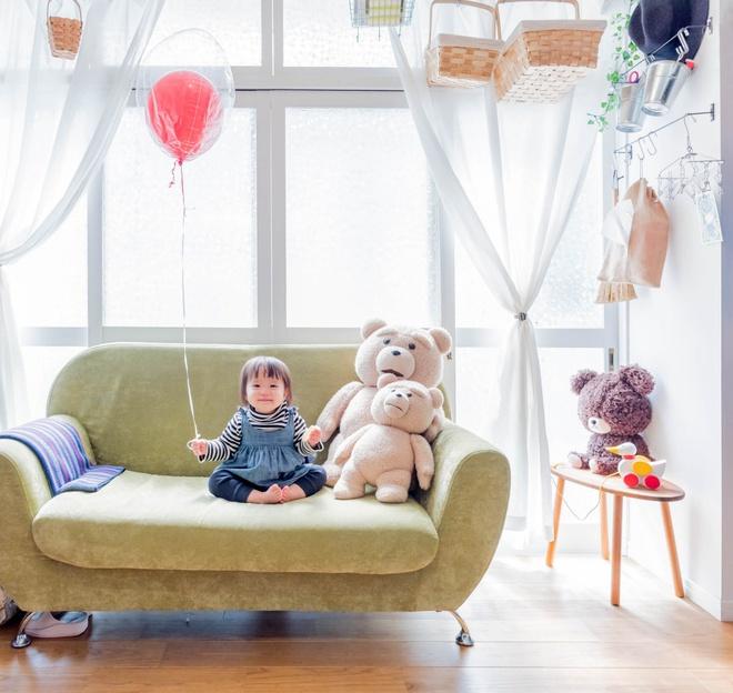 Căn hộ siêu nhỏ nhưng đẹp bình yên của gia đình 3 người ở Nhật Bản - Ảnh 8.