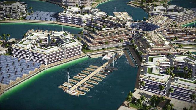 Bạn không hoa mắt đâu, đây là thành phố nổi đầu tiên trên thế giới giữa đại dương mênh mông - Ảnh 8.