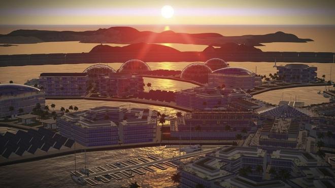 Bạn không hoa mắt đâu, đây là thành phố nổi đầu tiên trên thế giới giữa đại dương mênh mông - Ảnh 9.