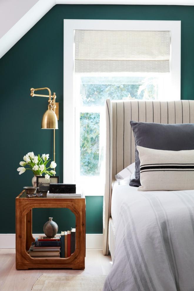 Phòng ngủ đẹp lung linh với gợi ý trang trí bằng đèn gắn tường - Ảnh 3.