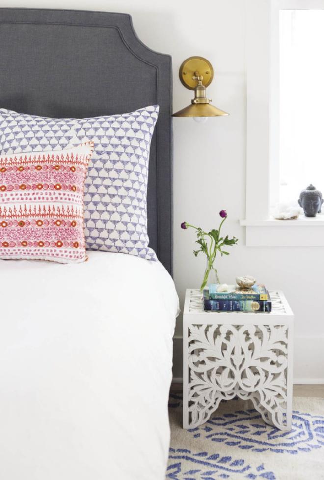 Phòng ngủ đẹp lung linh với gợi ý trang trí bằng đèn gắn tường - Ảnh 6.