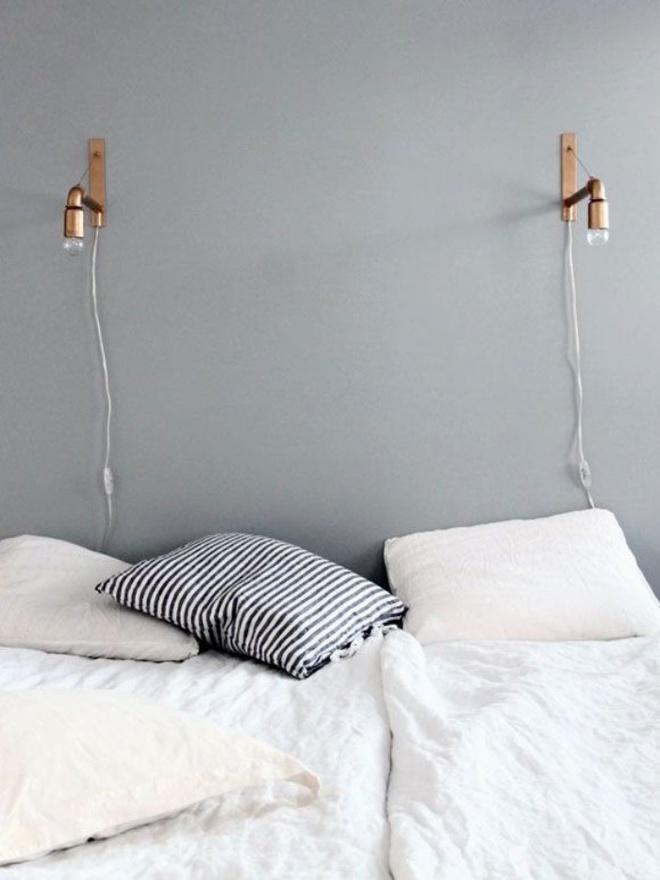 Phòng ngủ đẹp lung linh với gợi ý trang trí bằng đèn gắn tường - Ảnh 7.