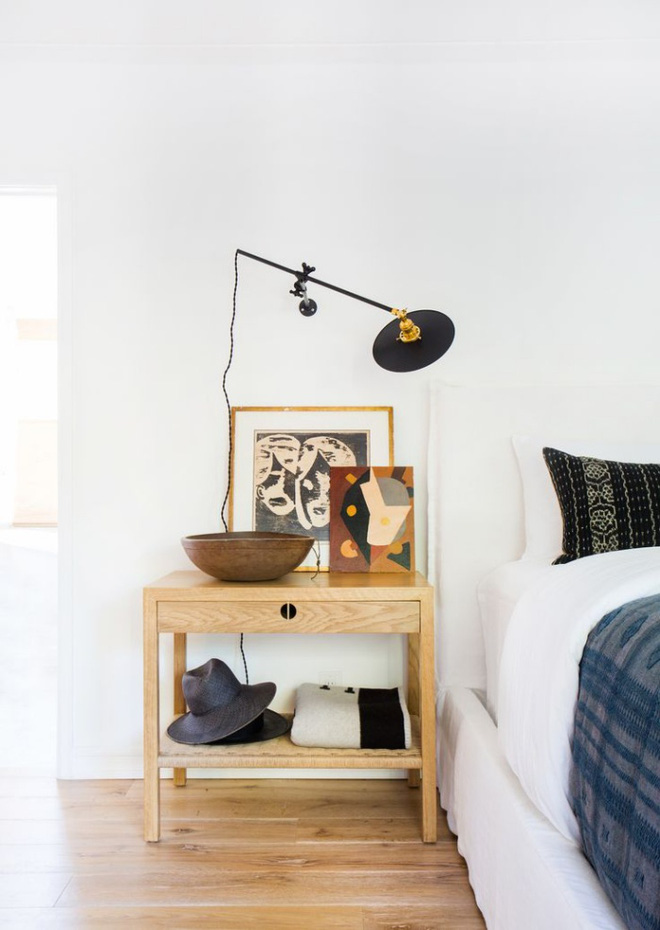 Phòng ngủ đẹp lung linh với gợi ý trang trí bằng đèn gắn tường - Ảnh 11.