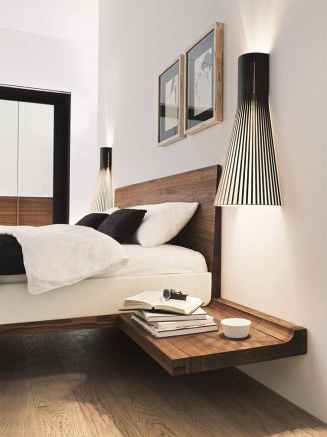 Phòng ngủ đẹp lung linh với gợi ý trang trí bằng đèn gắn tường - Ảnh 15.