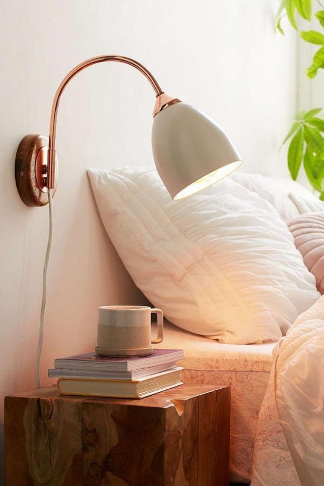 Phòng ngủ đẹp lung linh với gợi ý trang trí bằng đèn gắn tường - Ảnh 16.