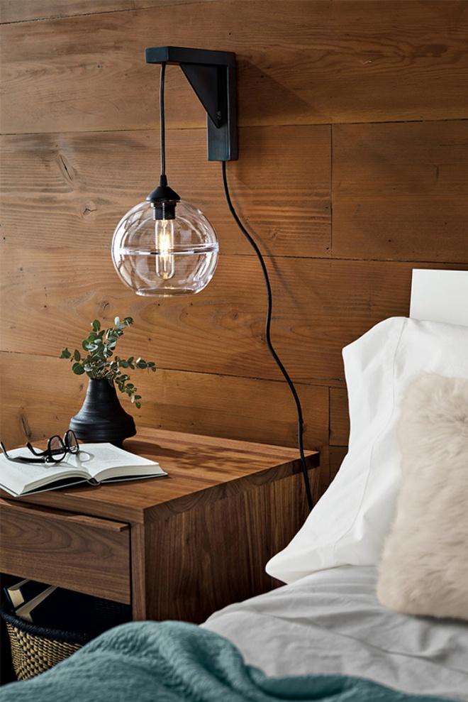 Phòng ngủ đẹp lung linh với gợi ý trang trí bằng đèn gắn tường - Ảnh 19.