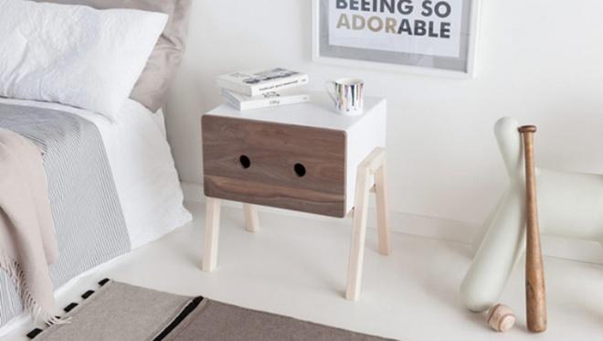 Những chiếc tab đầu giường đa năng nhỏ những có võ dành riêng cho phòng ngủ nhỏ - Ảnh 2.