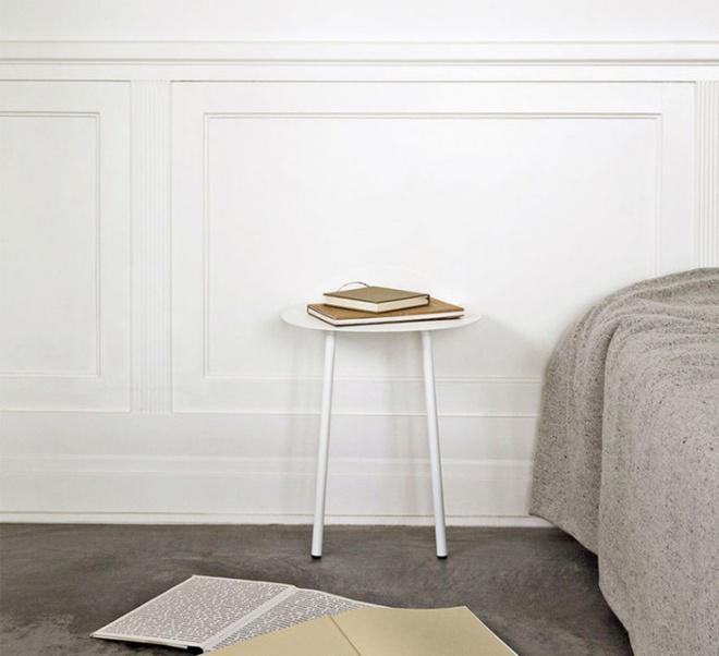 Những chiếc tab đầu giường đa năng nhỏ những có võ dành riêng cho phòng ngủ nhỏ - Ảnh 4.